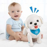 Smart Puppy Teddy Programmable Voice Control Singing Dancing Walking Toys for Kids