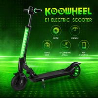Koowheel Patent Innovative Electric Scooter 320W with LED Display App Control