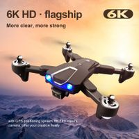 5G Wifi 6K Camera RC Drone With Professional Optical Flow Localization Dual Batteries