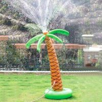 155cm Inflatable Palm Tree Sprinkler Outdoor Party Sprinkler Water Toys for Boys Girls