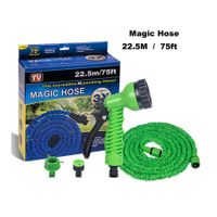 Garden Hose75ft(22.5M), Flexible Expanding Hose with Free Water Spray Nozzle