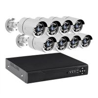 8CCTV Cameras 1080P HDMI 8CH DVR Security System IR Night Vision 2TB Space