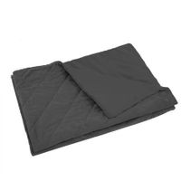 DreamZ 198x122cm Anti Anxiety Weighted Blanket Cover Polyester Cover Only Grey