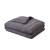 DreamZ 9KG Weighted Blanket Promote Deep Sleep Anti Anxiety Double Dark Grey