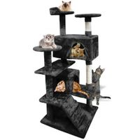PaWz 1.3M Cat Scratching Post Tree Gym House Condo Furniture Scratcher Tower