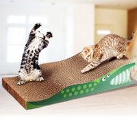 Cat / Kitten Claw Scratching Board Scratch Post - Crocodile Design