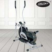 Genki Elliptical Bicycle Cross Trainer Fitness Bike - Total Body Workout