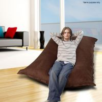 Large 2-Seater Micro Suede Bean Bag
