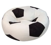 Micro Suede Soccer Ball Bean Bag