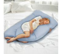 Blue Maternity Support and Feeding Pillow