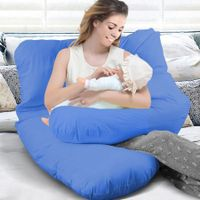 Maternity Pregnancy Pillow Cases Nursing Sleeping Body Support Feeding Boyfriend