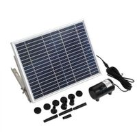 Solar Fountain Water Pump Kit Pond Pool Submersible Outdoor Garden 15W