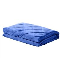 DreamZ 11KG Adults Size Anti Anxiety Weighted Blanket Gravity Blankets Blue