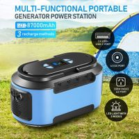 87000mAh  Portable Generator Power Station Solar Battery Charger