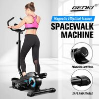 Genki YB-E2 Pro Cross Trainer Home Gym Equipment Elliptical Trainer Machine with Magnetic Resistance