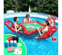 Bestway Texas Hold'Em Poker Inflatable Pool Poker Toy Set