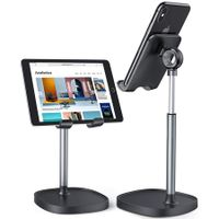 Cell Phone Stand, Angle Height Adjustable Phone Stand For Desk