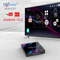 2021 Android 10.0 Smart TV Box 4GB 32GB ROM 2.4GHz/5GHz WiFi 4K Quad Core HD