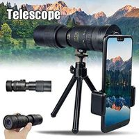 Super Telephoto Zoom Monoculars - 4K 10-300X40Mm Waterproof and Anti-Fog Night Vision