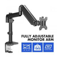 Single Screen Monitor Stand Computer Monitor Desk Mount Monitor Bracket with Adjustable Arm