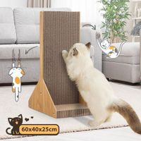 Corrugated Cardboard Cat Scratching Board Cat Tree Scratcher Pad Lounge Toy Furniture