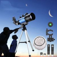 Telescopes 70mm Aperture 400mm with Fully Multi-Coated Optics for Astronomy Beginners