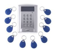 LCD Display Networking Entry Door Access Control System + 10 Key Fobs