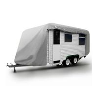 20-22FT Open Side Caravan Cover