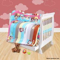 White 3-in-1 Baby Cot / Child Bed