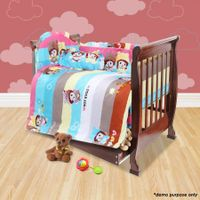 Walnut 3-in-1 Baby Cot / Child Bed