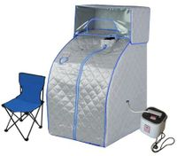 Portable Steam Sauna Tent w/ Head Cover