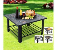 Multi-Function BBQ Pit-Black