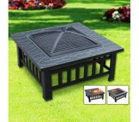 All-in-One BBQ Pit Table-Low