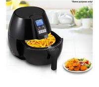Black LCD Screen Air Fryer