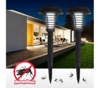 Solar Powered UV Mosquito Insect Pest Killer Lawn Light Lamp