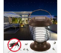 Outdoor Solar Powered Garden Yard Pest Insect Mosquito Killer Lamp