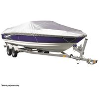 Boat All-Weather Durable 100% Waterproof Resistant 17-19ft V-Hull Runabout 244cm Beam Width Cover