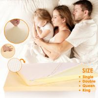 Memory Foam Mattress Topper - Queen Bed