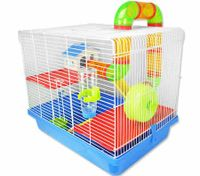 Hamster Cage with Tunnels and Accessories - 45cm approx Height