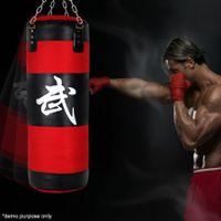 Brand New High Quality Red and Black Boxing Punching Bag - 80cm
