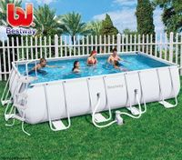 Bestway Extra Large Steel Frame Above Ground Swimming Pool --549x274x122 cm
