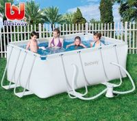 Bestway Steel Pro Frame Above Ground Swimming Pool -- 287cm x 201cm x 100cm
