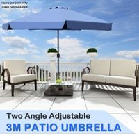 3M Dark Blue  Patio Umbrella