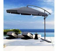 3M Black Cantilever Garden Umbrella
