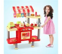 Kitchen Food Stand Play Set