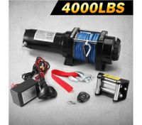 Battery Powered Wireless Remote Controlled ATV/Boat Winch-1800KGS