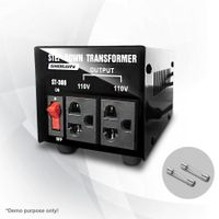 300W Step Down Transformer/Voltage Converter