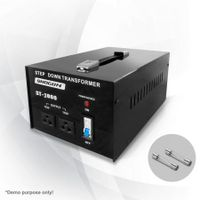 3000W Step Down Transformer/Voltage Converter