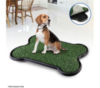 Bone-Shape Indoor Pet Toilet