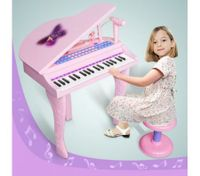 Deluxe Pink Electronic Organ